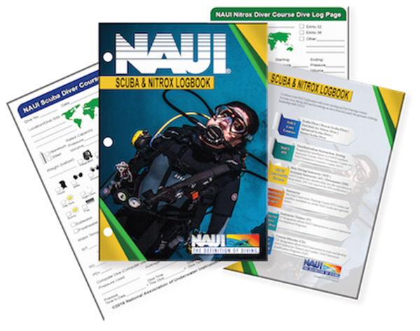 Scuba Diver and EANx Diver Logbook