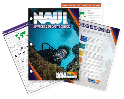 Advanced Scuba Diver & Specialty Diver Logbook