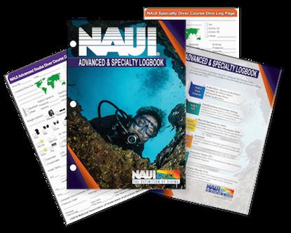 Advanced Scuba Diver & Specialty Diver Logbook