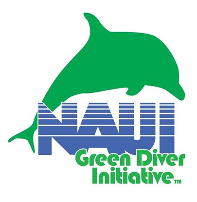 Picture of Tattoo, NAUI Green Diver- Dolphin