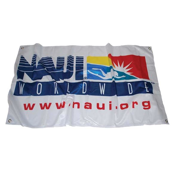 Picture of Flag, NAUI Logo