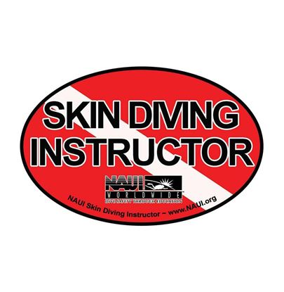 Picture of Decal, NAUI Skin Diving Instructor