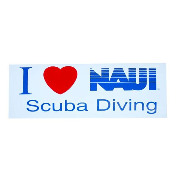 Picture of Decal, I Love NAUI Decal
