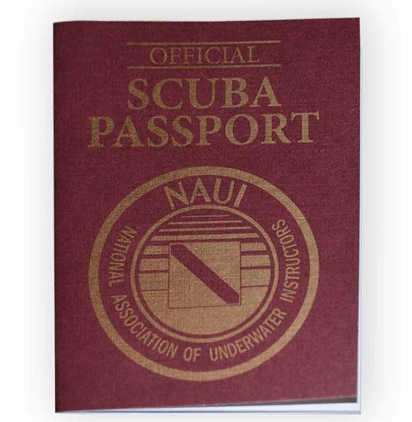 Passport Diver Logbook