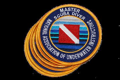 Master Scuba Diver Emblem