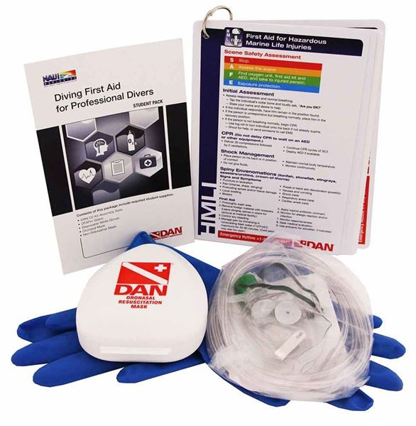 Diving First Aid for Professional Divers Student Kit