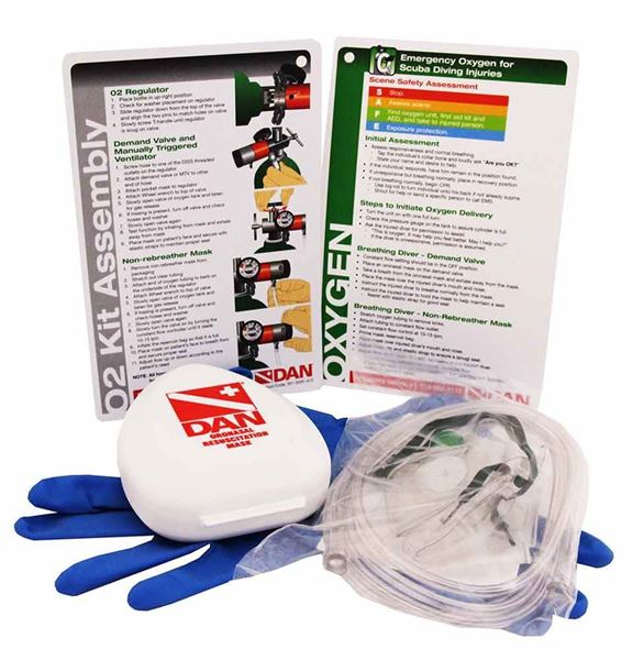 Emergency Oxygen for Scuba Diving Injuries Student Kit