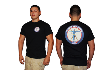 NAUI Technical Diver Logo T-Shirt