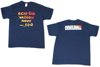 NAUI Definition of Diving T-Shirt