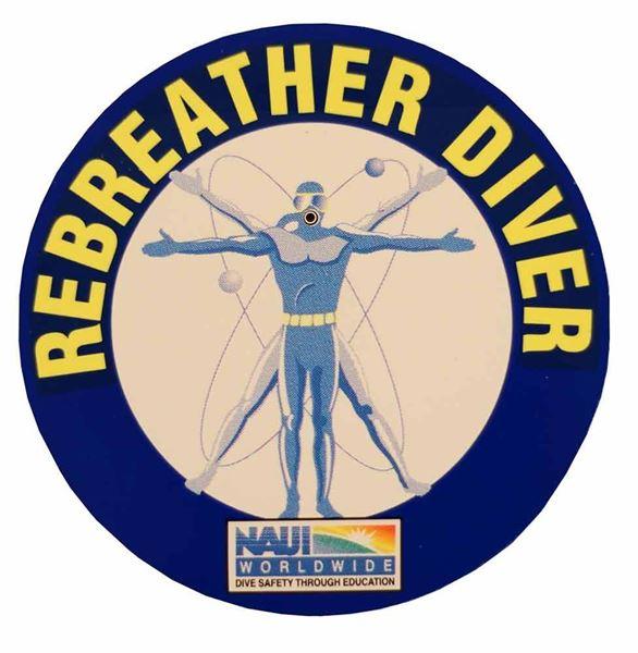 Rebreather Diver Decal