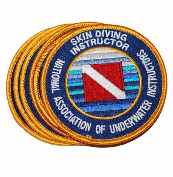 Skin Diving Instructor Emblem