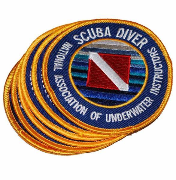 Scuba Diver Emblem