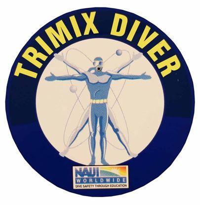 Trimix Diver Decal