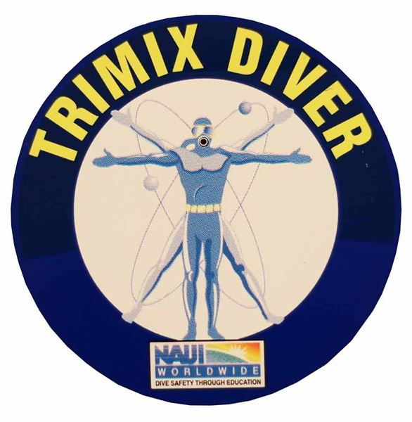 Trimix Diver Decal