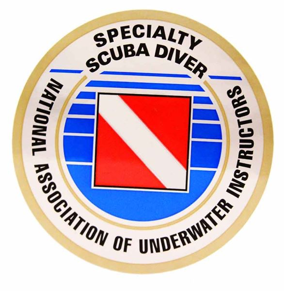 Specialty Scuba Diver Decal