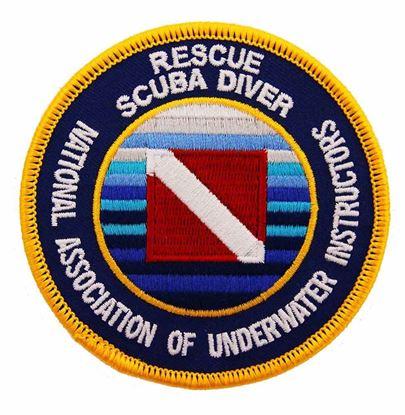 Rescue Scuba Diver Emblem