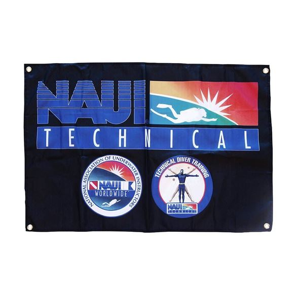 NAUI TECH FLAG