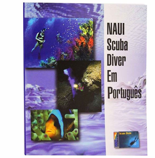 Scuba Diver Textbook - Portugese