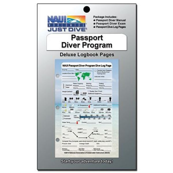Logbook Pages, Passport Diver