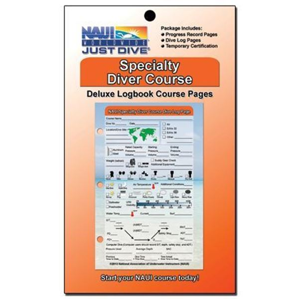 Logbook Pages, Specialty Course