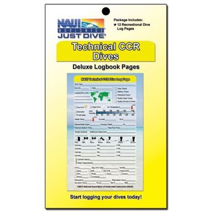 Logbook Pages, Technical CCR Refill