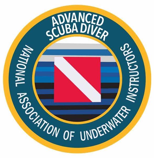 Advanced Scuba Diver Decal