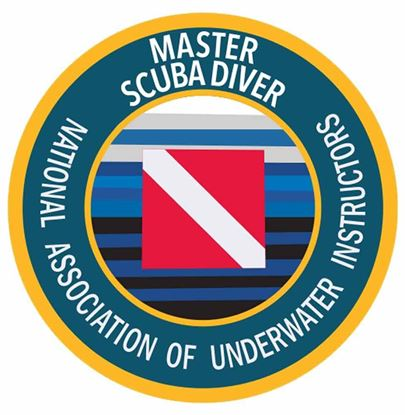 Master Scuba Diver Decal