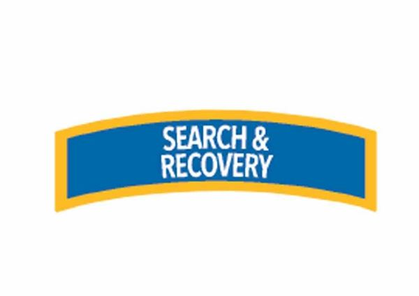 Picture of Decal,  Specialty Search & Recovery Diver Chevron