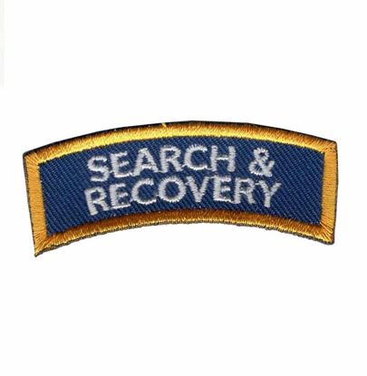 Picture of Patch, Specialty, Search & Recovery Diver Chevron