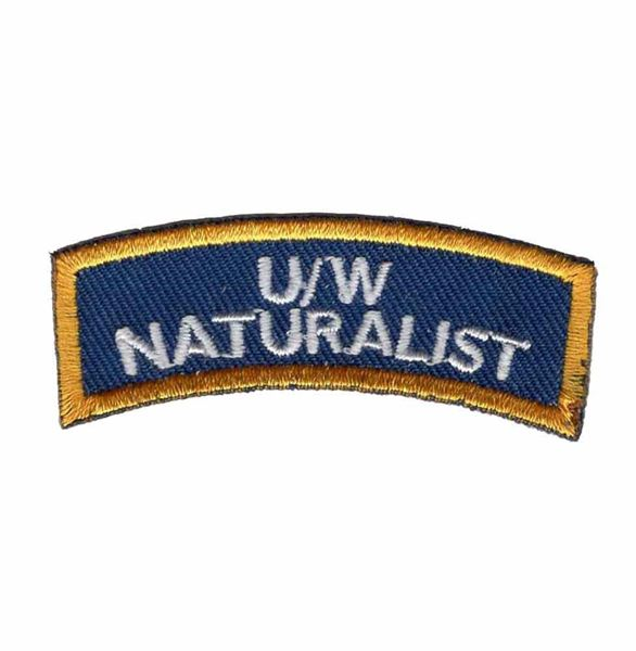 Picture of Patch, Specialty, Underwater Naturalist Diver Chevron