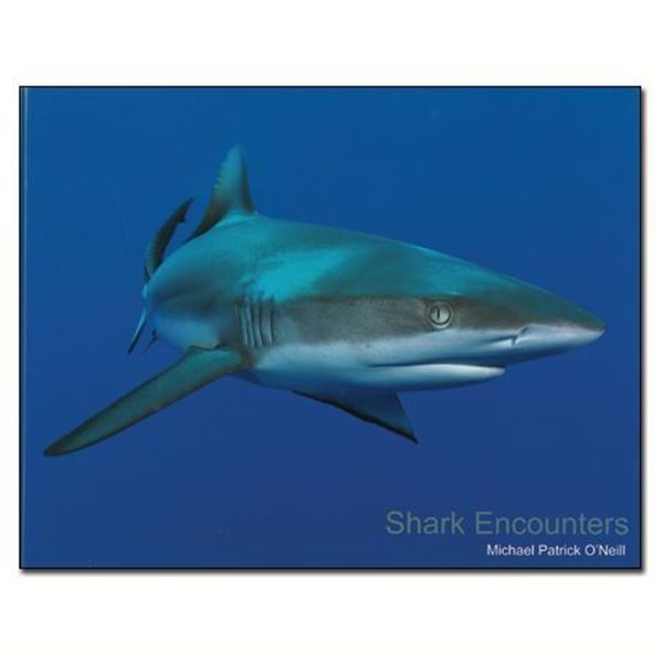 Picture of Book, Shark Encounters