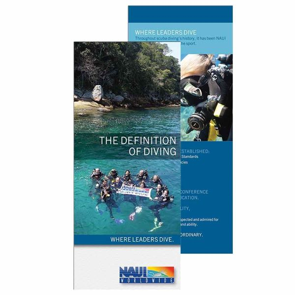 Picture of Brochure, NAUI The Definition of Diving