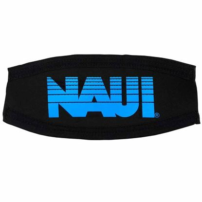 Picture of Mask Strap Cover, NAUI Logo - BLUE