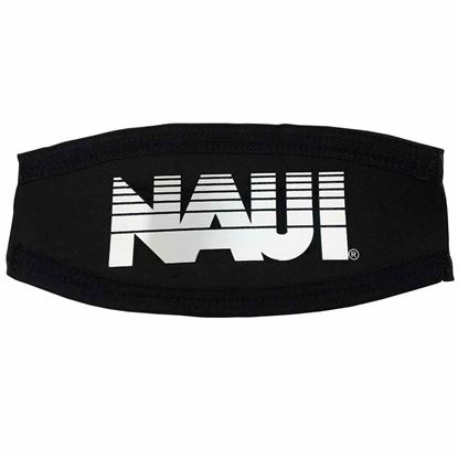 Picture of Mask Strap Cover, NAUI Logo - WHITE