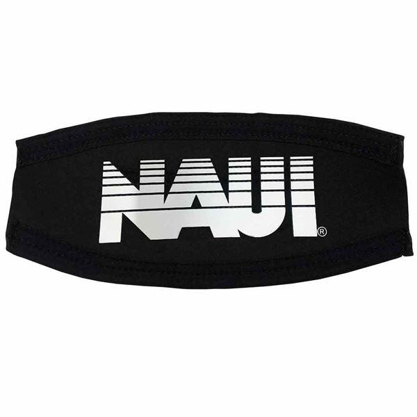 Picture of Mask Strap Cover, NAUI Logo - WHITE