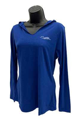 Picture of Women's Hoodie - Royal